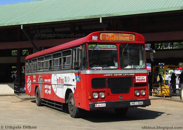 Ashok Leyland Viking Turbo 54 seater bus from SLTB Thanamalwila depot