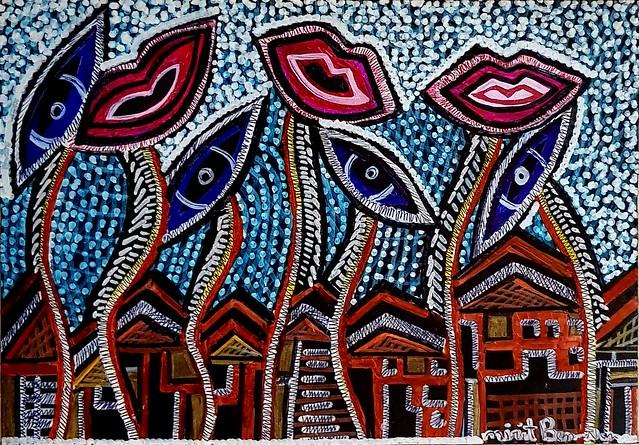 Pintores venden obras de arte desde Israel Mirit Ben-Nun