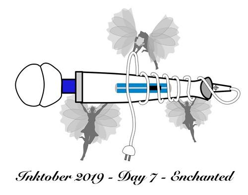 Inktober 2019 - Day 7 - Enchanted