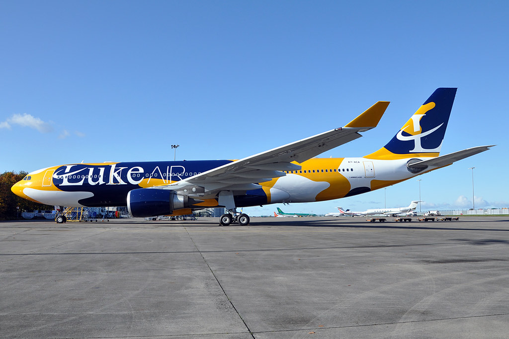 A7-ACA / 9H-RTU A330-203 Luke Air