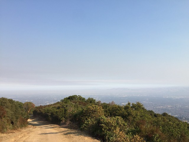 Smoggy South Bay