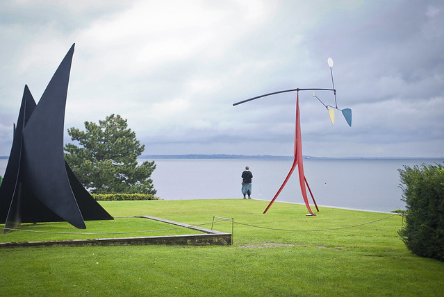 Almost Snow Plow (L) and Little Janey-Waney (R), Alexander Calder