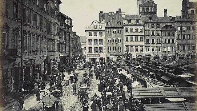 Rynek Starego Miasta ok 1890