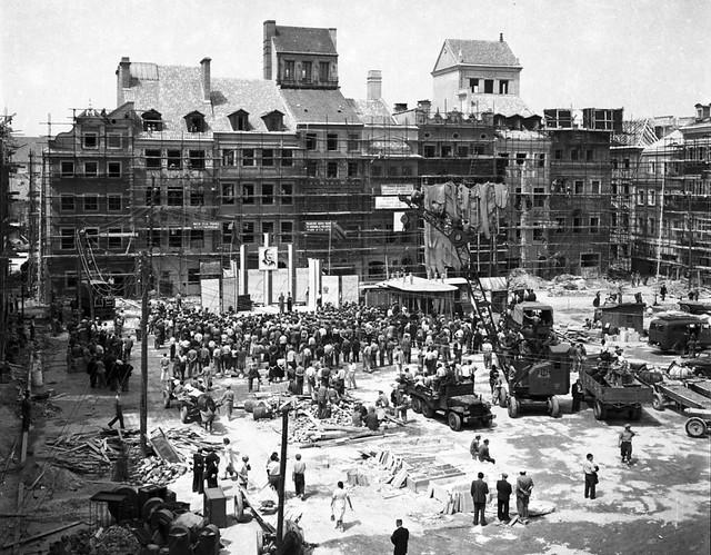 Rynek Starego Miasta 1953
