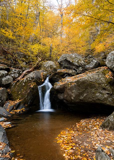 Upper Section of Dark Hollow Falls