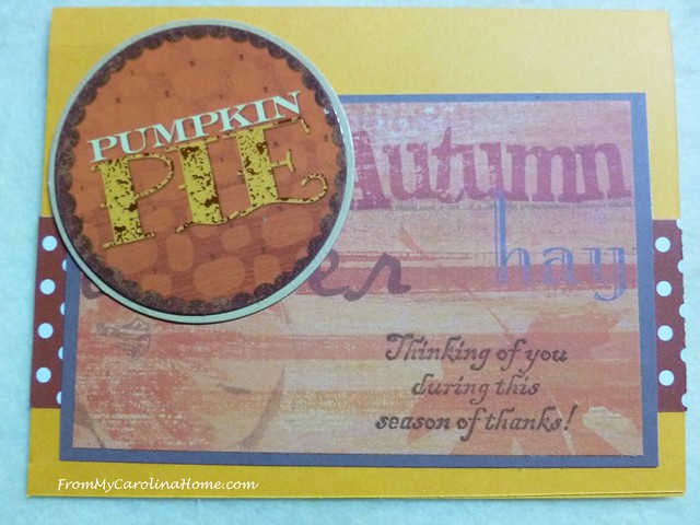 Thanksgiving Cards at FromMyCarolinaHome.com