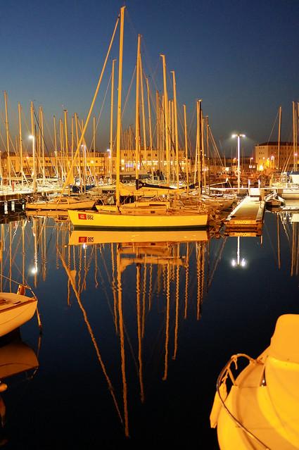 Barche di notte
