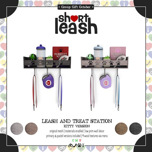 .:Short Leash:. October Group Gift