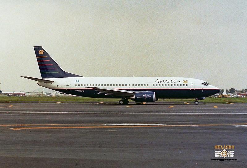 Aviateca / Boeing 737-3Q8 / N101GU