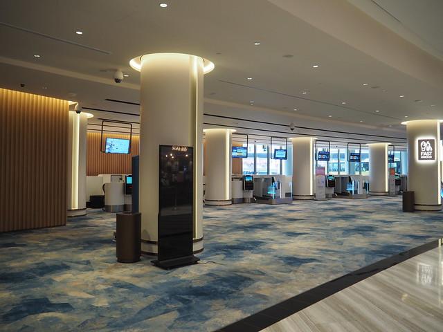 P9175450 シンガポールチャンギ空港 Jewel(ジュエル) アーリーチェックイン Singapore changi ひめごと