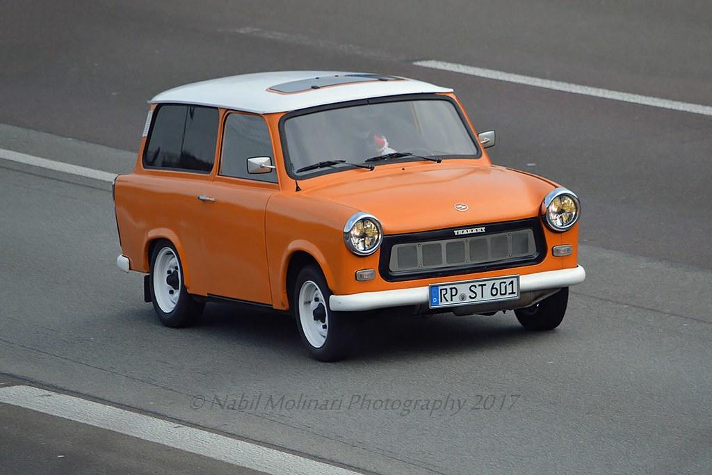 Classic Cars : Trabant 601 Estate