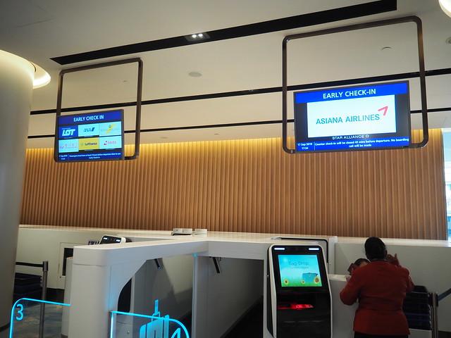 P9175447 シンガポールチャンギ空港 Jewel(ジュエル) アーリーチェックイン Singapore changi ひめごと