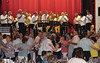 Tanzunterhaltung mit der Blaskapelle Billed-Alexanderhausen