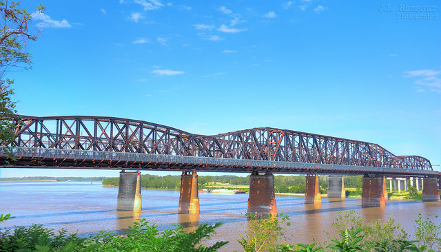 Harahan Bridge (Big River Crossing) - Mississippi River - Memphis, Tennessee