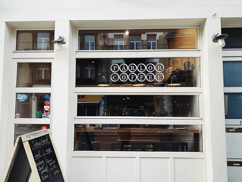 Parlor Coffee Bryssel kahvila