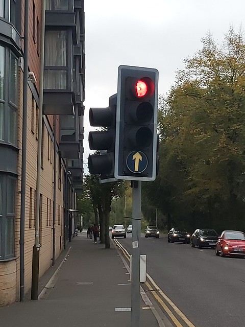 A random traffic light in Leicester
