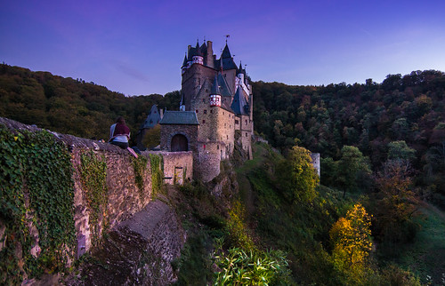 castle sunset germany travel medieval