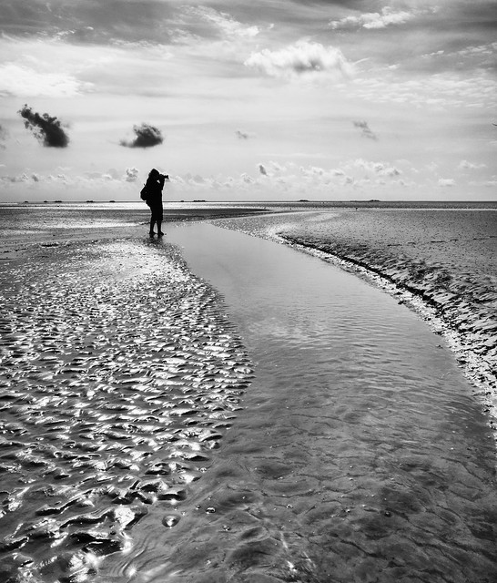 the photographer and the sea...