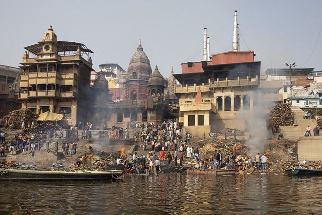 Varanasi - Burning Ghat