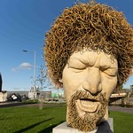 LUKE KELLY SCULPTURE AT GUILD STREET IN THE DOCKLANDS [I USED A SIGMA 14mm LENS]-1574699