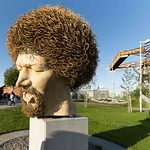LUKE KELLY SCULPTURE AT GUILD STREET IN THE DOCKLANDS [I USED A SIGMA 14mm LENS]-1574701