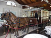 Sassi, restaurace u lanovky byla zavřená, takové tramvaje tažené koňskou silou jezdily v Turíně, foto: Petr Nejedlý