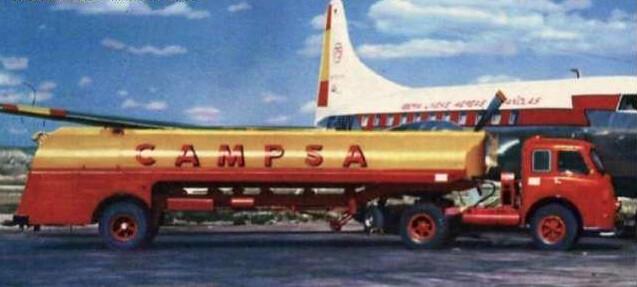 Pegaso Mofletes - CAMPSA - 1954