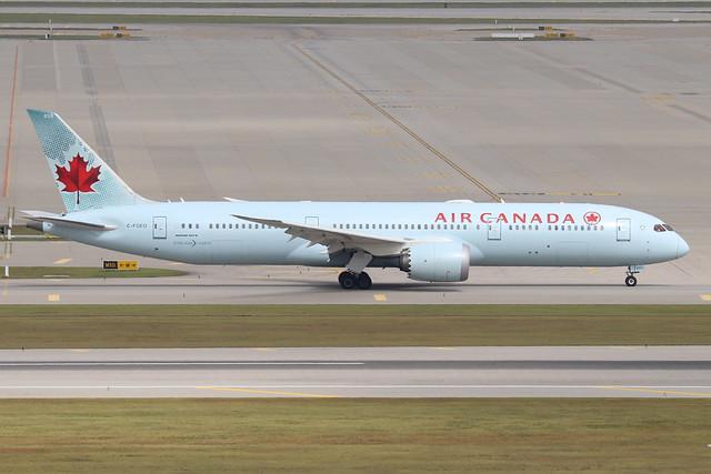 C-FGEO  -  Boeing 787-9 Dreamliner  -  Air Canada  -  ICN/RKSI 6/10/19