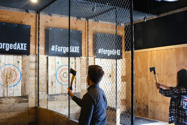 Forged Axe Throwing | Function Junction | Whistler, British Columbia