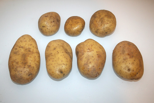 06 - Zutat Kartoffeln / Ingredient potatoes