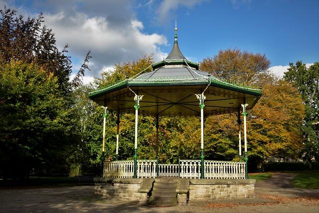 Autumn in Hexham Park. Northumberland. Walk 219