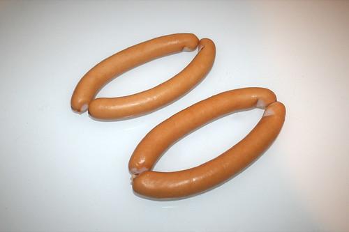 15 - Zutat Wiener Würstchen / Ingredient sausages