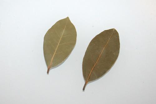 12 - Zutat Lorbeerblätter / Ingredient bay leafs