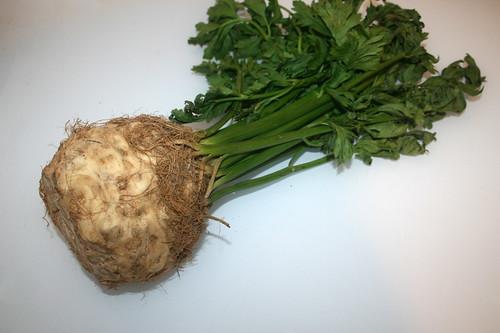 09 - Zutat Knollensellerie / Ingredient celeriac