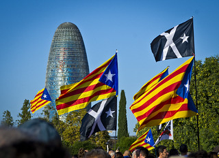 Estelades i bandera negra / No surrender, independence!