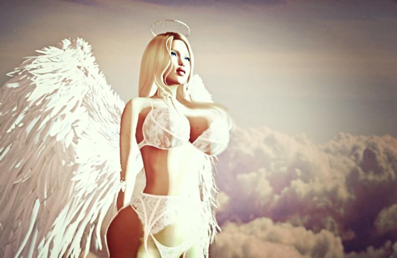Emmanuelle Angel Costume (Halloween 2019)