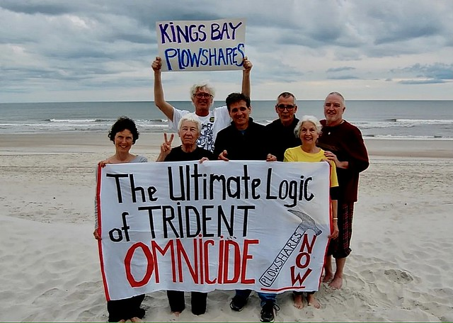 Chris Hedges: The Kings Bay Plowshares 7 -- Putting the Nuclear Arsenal on Trial