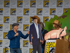 Alan Tudyk & Tricia Helfer Comic Con 17