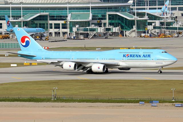 HL7638  -  Boeing 747-8B5  -  Korean Air  -  ICN/RKSI