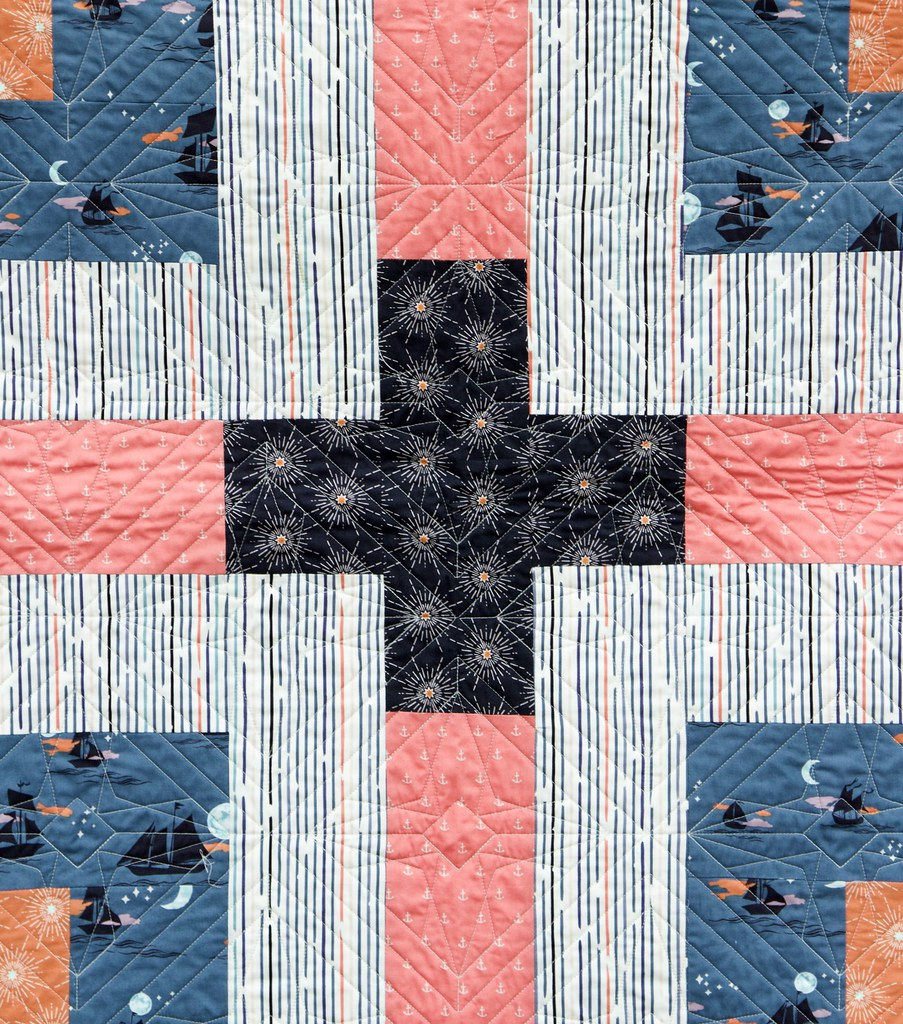 Polar Compass Quilt -- Quilting by Lady Belle Quilting