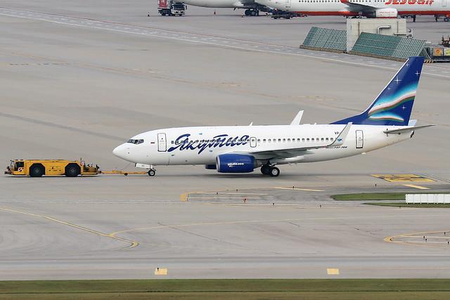 VP-BIO  -  Boeing 737-7CT (WL)  -  Yakutia Airlines  -  ICN/RKSI 6/10/10