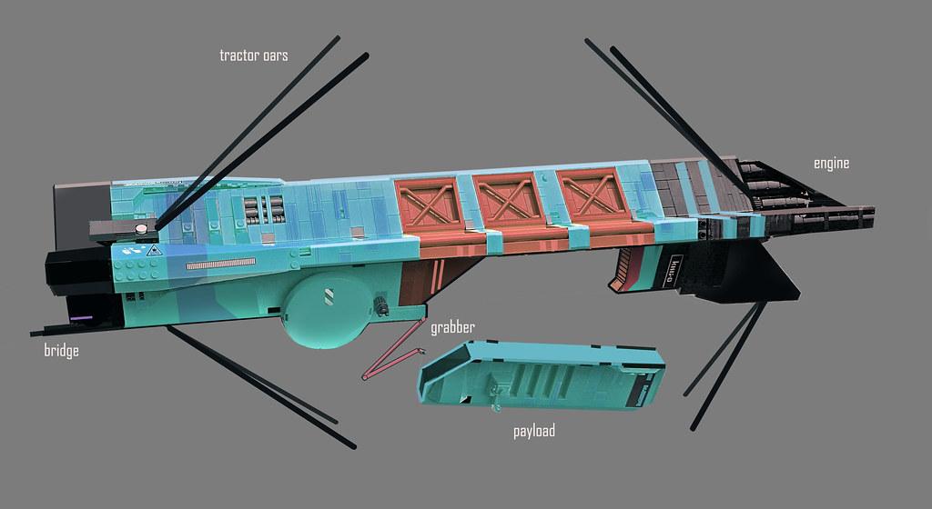 Small transport vessel