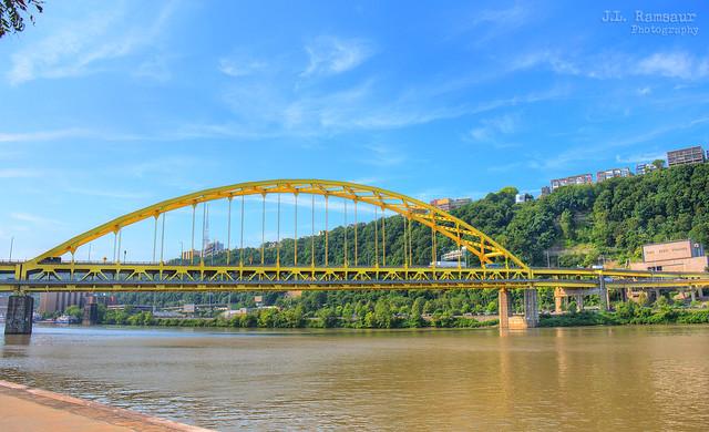 Fort Pitt Bridge - Pittsburgh, Pennsylvania