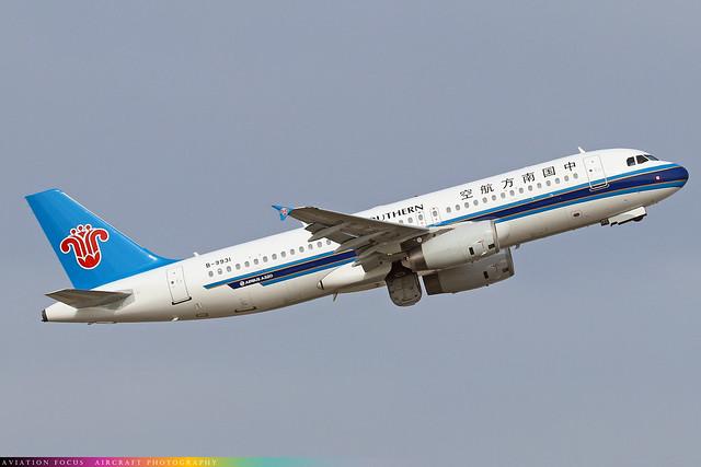 B-9931  -  Airbus A320-232  -  China Southern  -  ICN/RKSI 6/10/19