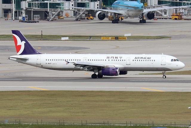 B-MAP  -  Airbus A321-231  -  Air Macau  -  ICN/RKSI 6/10/19