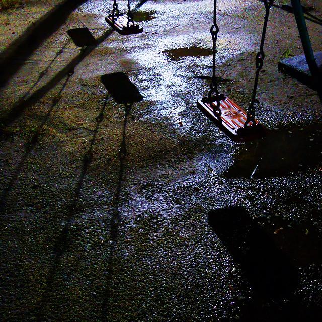 構成=Composition-186/Irons and shadows in the night