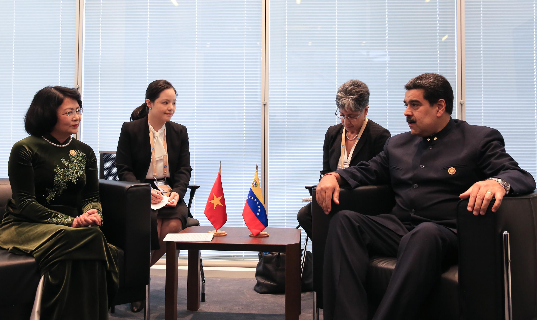 Venezuela y Vietnam ratifican hermandad en encuentro bilateral