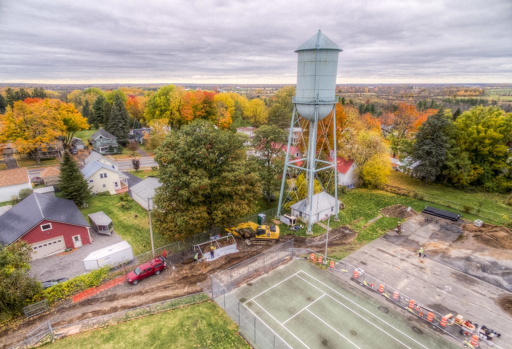 Water Tower Excavation in Heuvelton