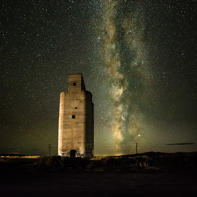 Silo In October