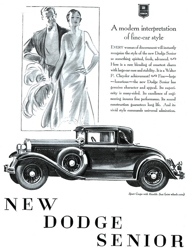 1929 Dodge Senior Sport Coupe with Rumble Seat